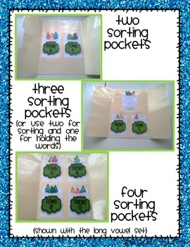File Folder Sorts {Short Vowels}