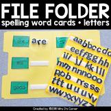 File Folder Spelling for K-3 {1,200+ sight words included!}