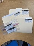 File Folder Standards Template EDITABLE