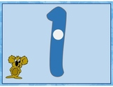 File Folder-Sun Counters for Numbers 1-10