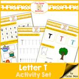 Letter T - File Folders