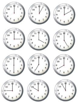 File Folder- Telling Time