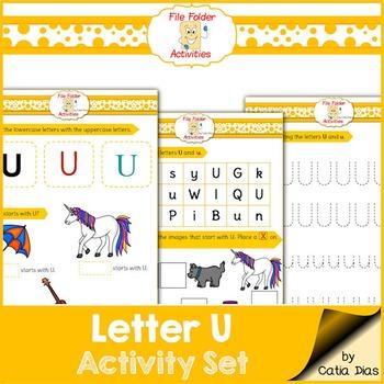 Letter U - File Folders