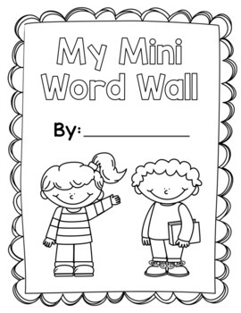 File Folder Word Wall
