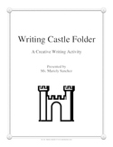 File Folder Writing Castle - Creative Writing