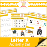 Letter X - File Folders