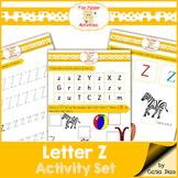 Letter Z - File Folders