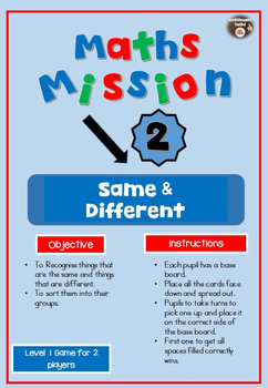 Maths Mission Games 2 - Kindergarten