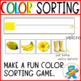 File Folder, task cards to learn colors