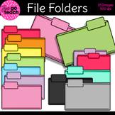 File Folders {Clipart}