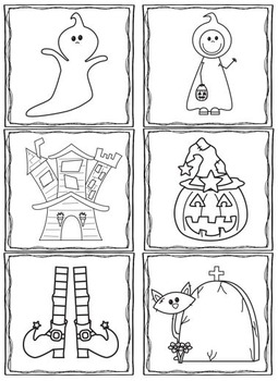 File Folders Halloween