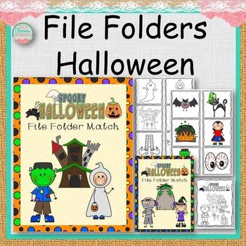 File Folders Halloween