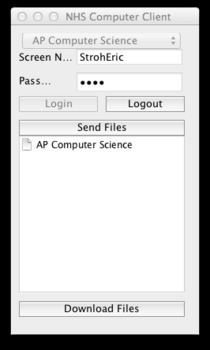 File Share Client Server for LAN classroom