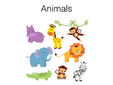 File Task Activity - Animals