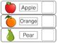 File Task Activity - Fruits
