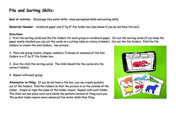 File and Sorting Skills
