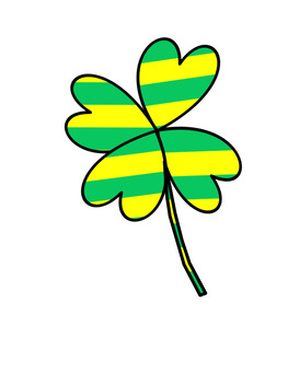 Filed of Clover Clipart