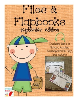 Files and Flapbooks: September Edition
