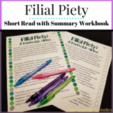 Filial Piety Short Read with Summary Workbook