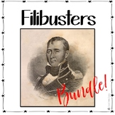 Texas History 7th Grade - Filibusters of Texas - Mexican Revolution Bundle