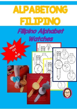 Filipino Alphabet Watches -- Flip and Learn