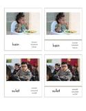 Filipino Verbs/Action Words/Pandiwa (3 Part Montessori Cards)