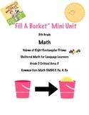 Fill A Bucket 5th Grade Volume of Prisms