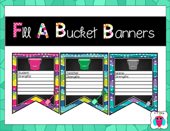 Fill A Bucket Banners