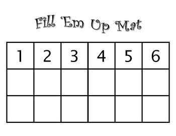 Fill 'Em Up - Representations of Numbers