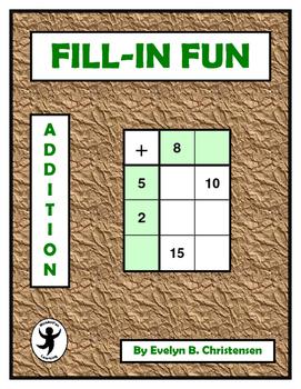 Fill-In Fun: Addition