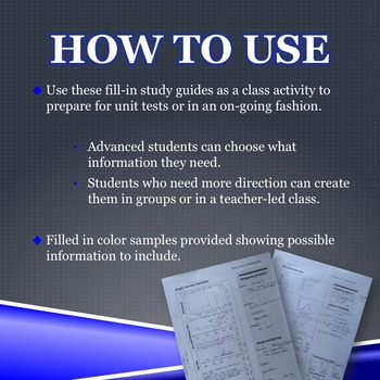 Fill In Study Guide--Entire DATA Strand for 8th Grade or Math 1/Algebra Review