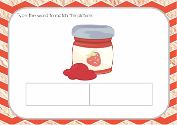 Fill-In the Blank CVC Interactive Digital Task Cards (Boom! Deck) 2