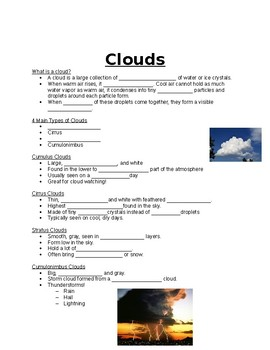 Fill-In-the-Blank for cloud powerpoint