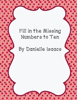 Fill In the Missing Number to 10