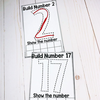 Fill It Number Cards