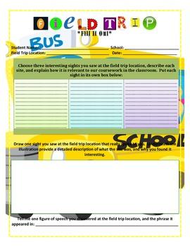 Fill It Out: Field Trip Form