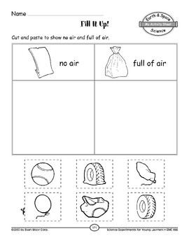 Fill It Up! (Properties of Earth Materials)