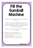Fill The Gumball Machine - Classroom Goal Getters