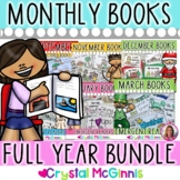 Fill Those Book Boxes BUNDLE (Emergent Reader Books for the Whole Year)