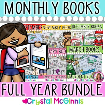 Fill Those Book Boxes BUNDLE (Emergent Reader Books for th
