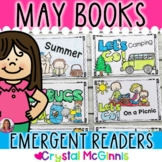 May and Summer Themed Books for Beginning Readers (Emergen