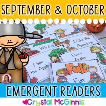 Fill Those Book Boxes! Simple Fall Emergent Readers (apple