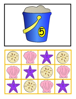 Fill Up My Bucket! Four Math Centers and Games, Addition, Cardinality, Numerals