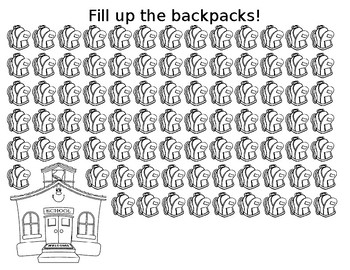 Fill Up the Backpacks Articulation Drill