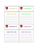 Fill Your Bucket Slips for Students to Encourage and Increase Confidence