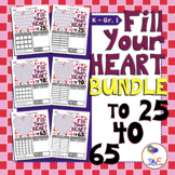 Fill Your Heart Math Games BUNDLE