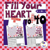 Fill Your Heart to 40 Math Games