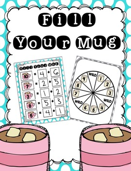 Fill Your Mug: Addition Math Fact Game