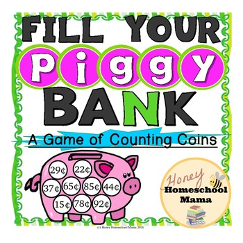 Fill Your Piggy Bank - A Game of Counting Coins