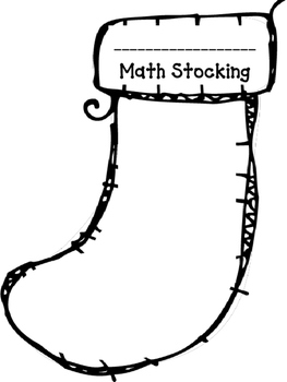 Fill Your Stocking with Learning! (Use for all subjects, all ages!)